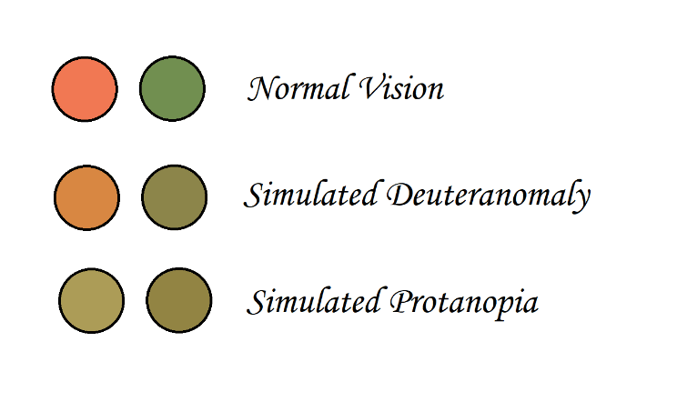Types of Color Blindness - Improves Chart Aesthetics