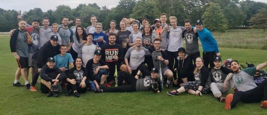 Clair's softball team