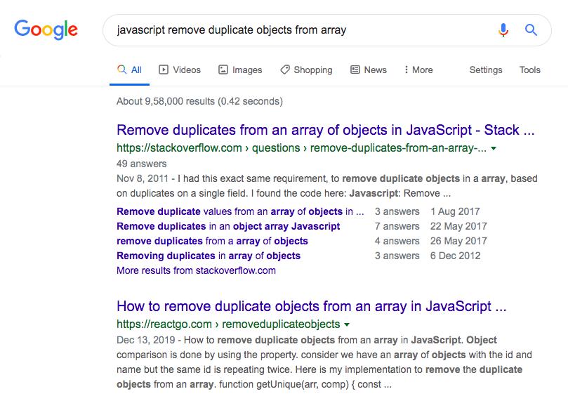 reactgo.com google search