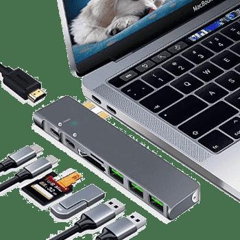 Portable MacBook Pro dock