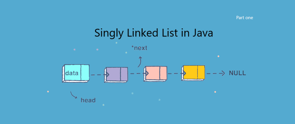 Cover image for How to implement Generic Singly Linked List in Java - Part 1