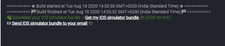 Download bundle
