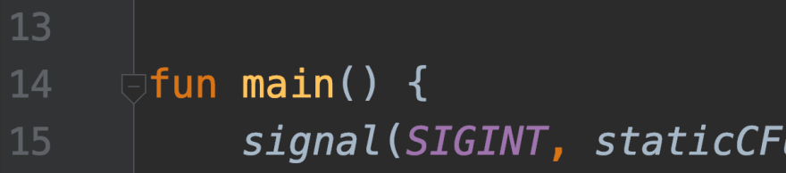 Missing run icon in IntelliJ Community edition