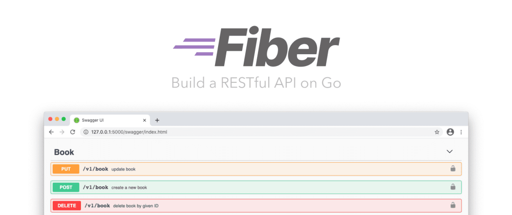 Cover image for 📖 Build a RESTful API on Go: Fiber, PostgreSQL, JWT and Swagger docs in isolated Docker containers