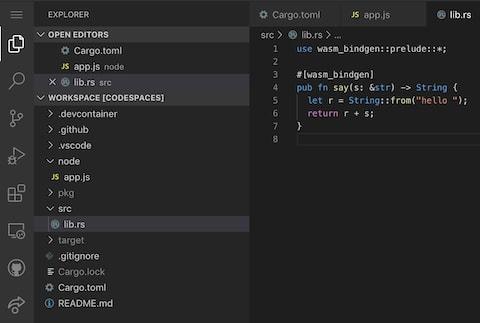 Code in Codespace