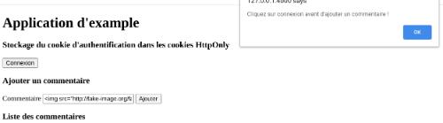 Cookie HttpOnly Sécurisé