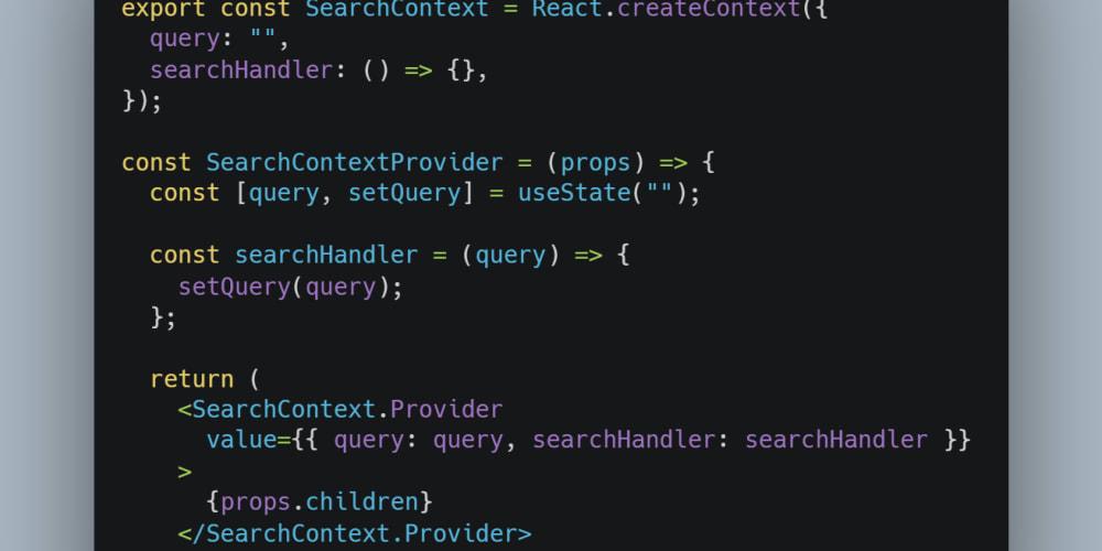 Using React Context API Like a Pro