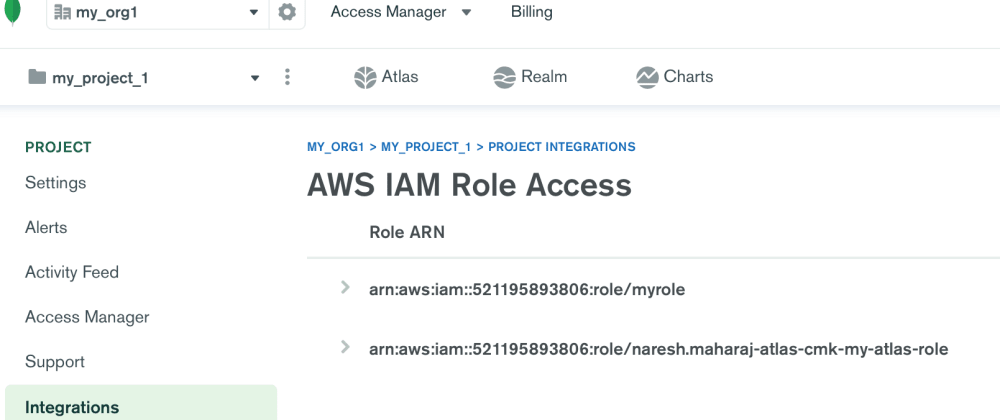 Cover image for Authorize Atlas to Access your AWS Account