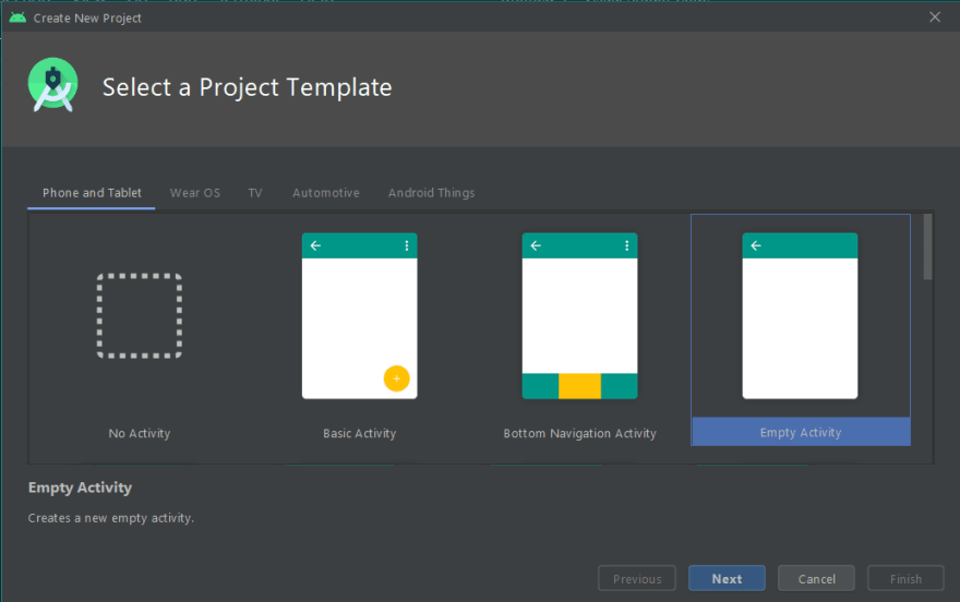 android project template