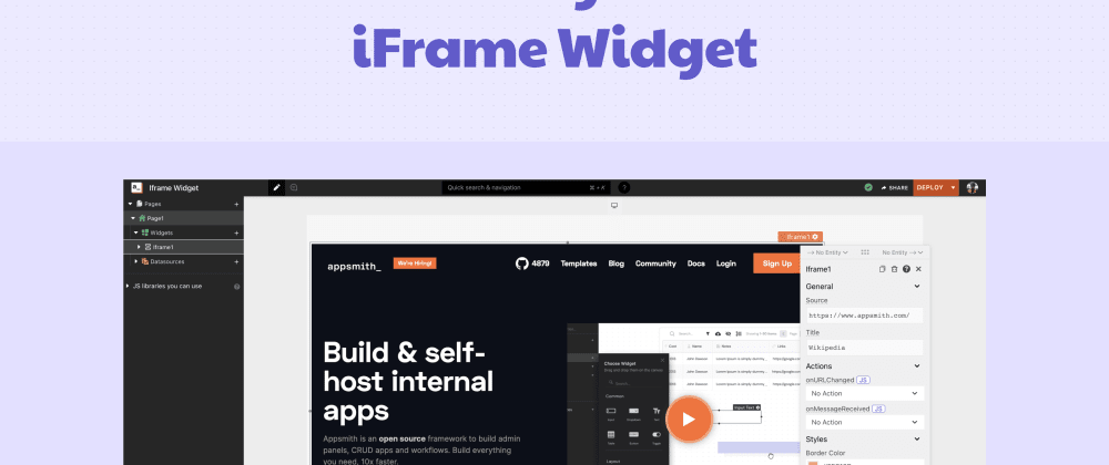 Cover image for Embed Anything! Introducing the New iFrame Widget