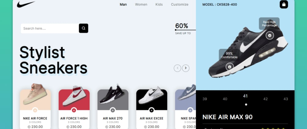 Cover Image for Create an Exclusive Product Landing Page using HTML  CSS & JS
