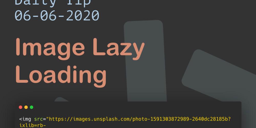 Image Lazy Loading - DEV Community