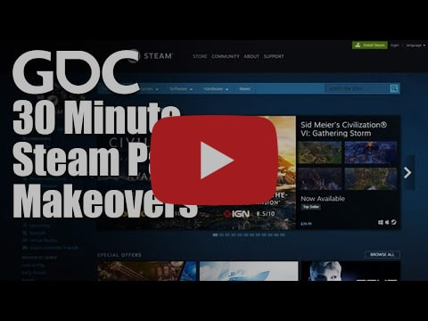 30 Minute Steam Page Makeovers