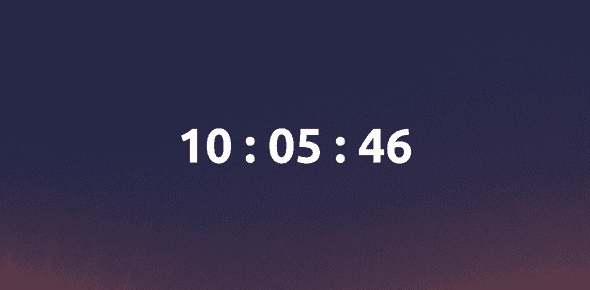 how to create a clock using javascript 3