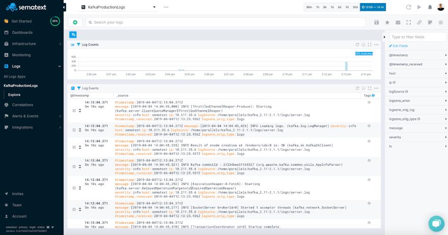 Monitoring Kafka with Sematext - DEV Community 👩 💻👨 💻