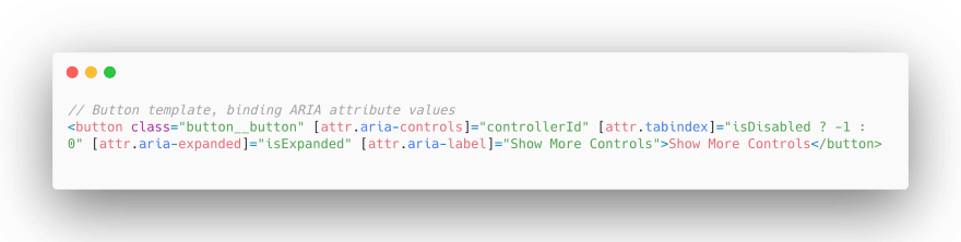 aria-role alert for dynamic content