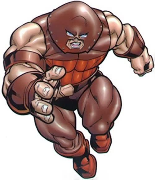Much like the Juggernaut!