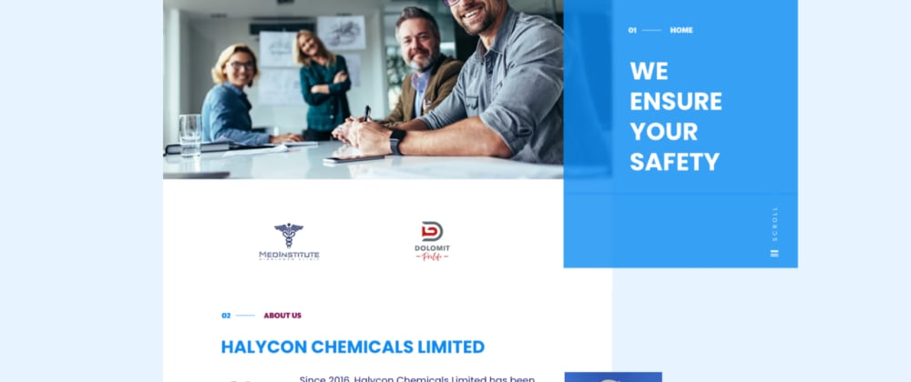 Cover image for Site launch: Halycon Chemicals Limited
