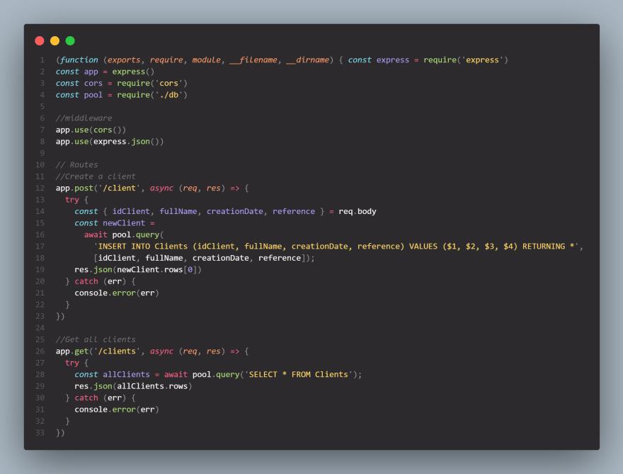POS API design