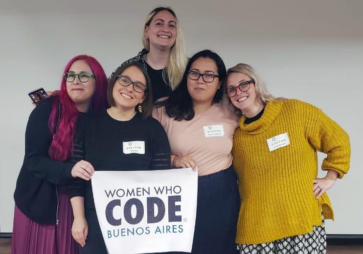 Directoras de WWCode Buenos Aires