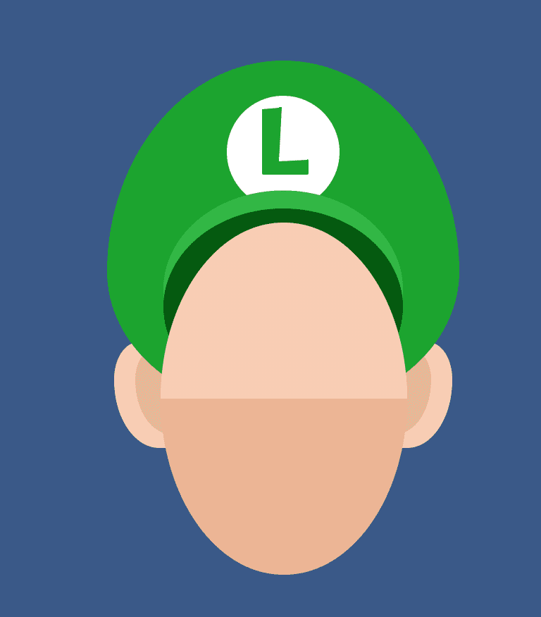 Luigi's Face