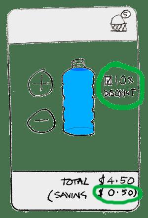 ugly water seller app, final version
