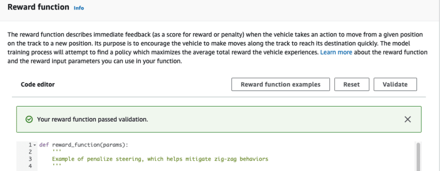 Reward Function