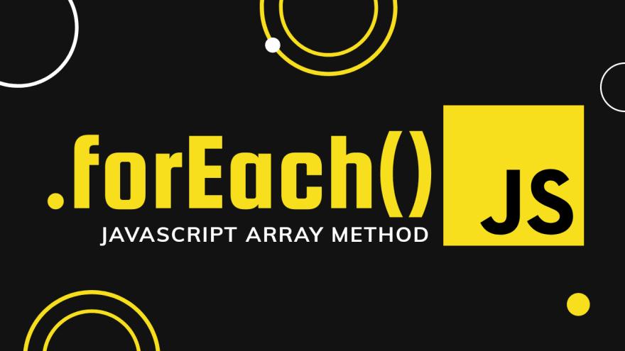 Foreach in JavaScript