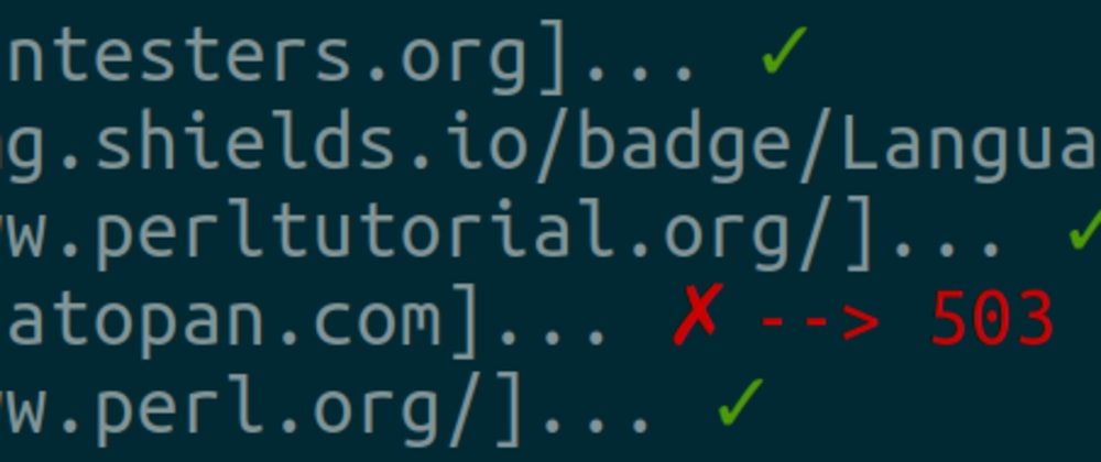 Cover image for Check links with HTTP::Simple