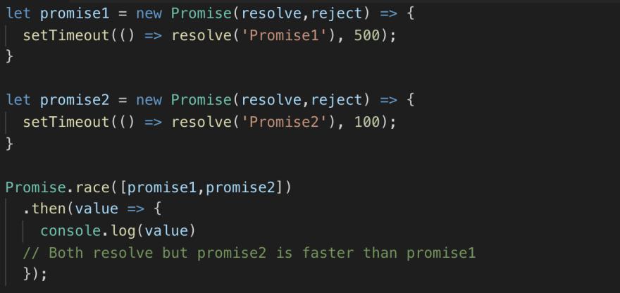 Promise-race