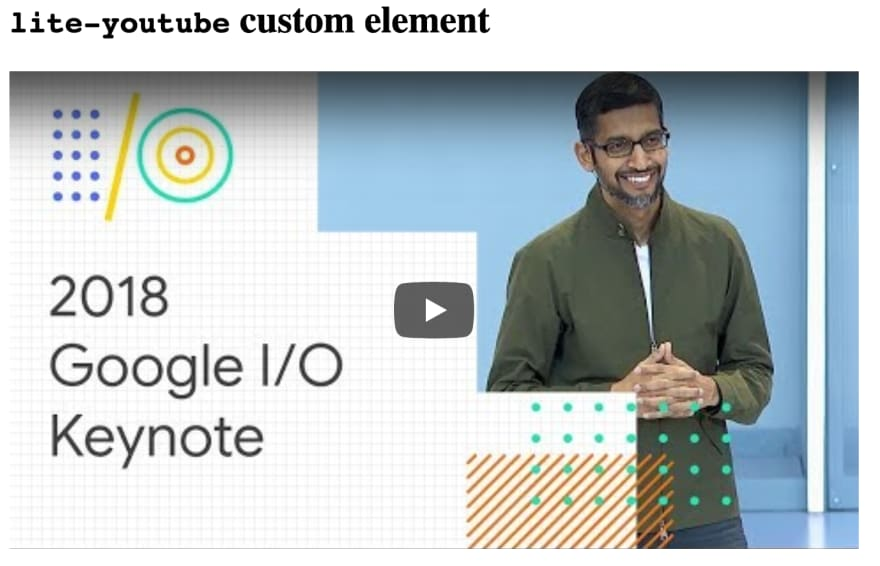 Lite Youtube Embed Demo