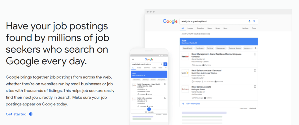 Cover image for Google Job Search Developer's Cheat Sheet