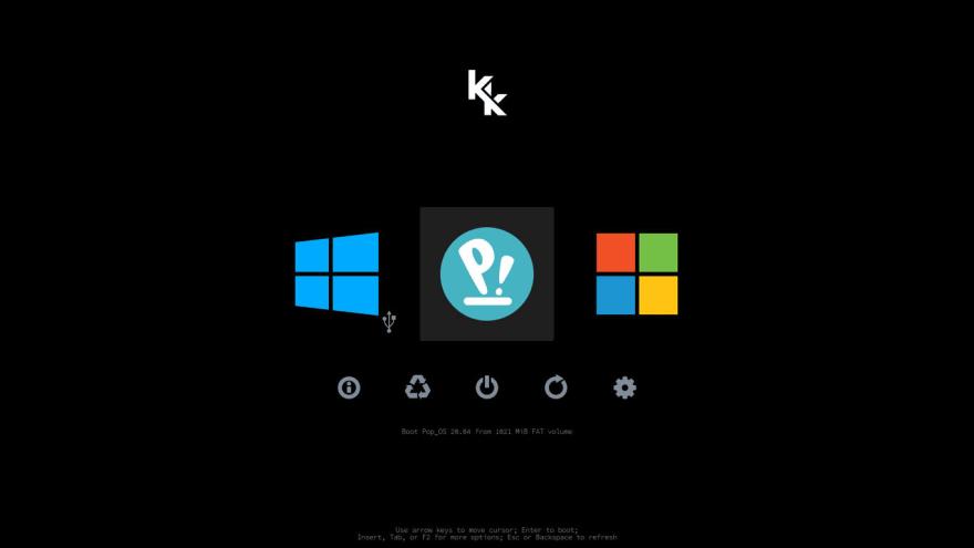 kk-refind-boot-manager