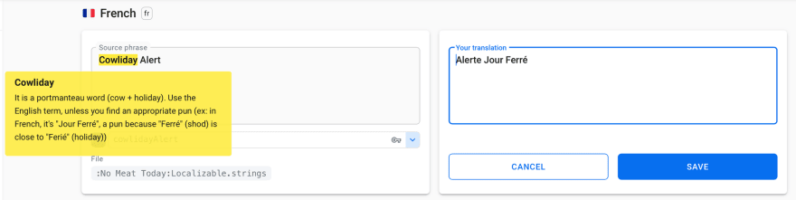 Translating your iOS app with Localazy
