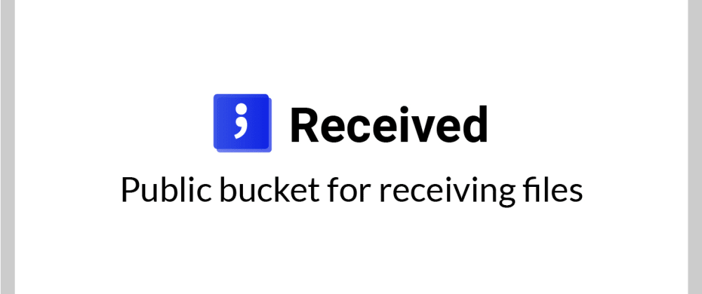Cover image for Received; Twilio Hackathon submission