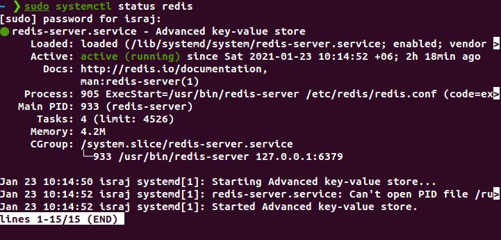 Redis Active Status