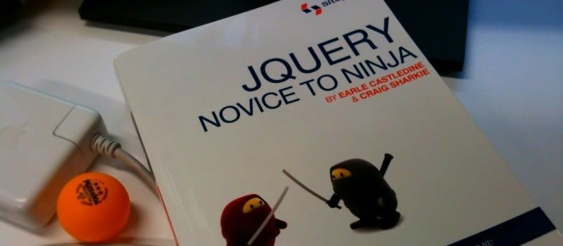 jQuery: Novice to Ninja, photo by James Dennes, https://creativecommons.org/licenses/by/2.0/