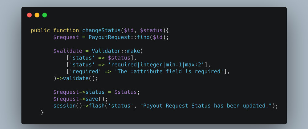 Cover image for Validate a local Variable in Laravel Livewire.