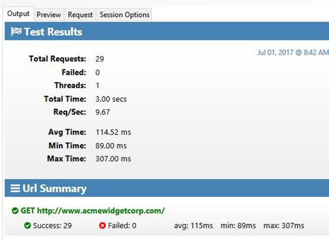 Load Testing IIS Web Server