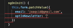 Type-check field value when patching value