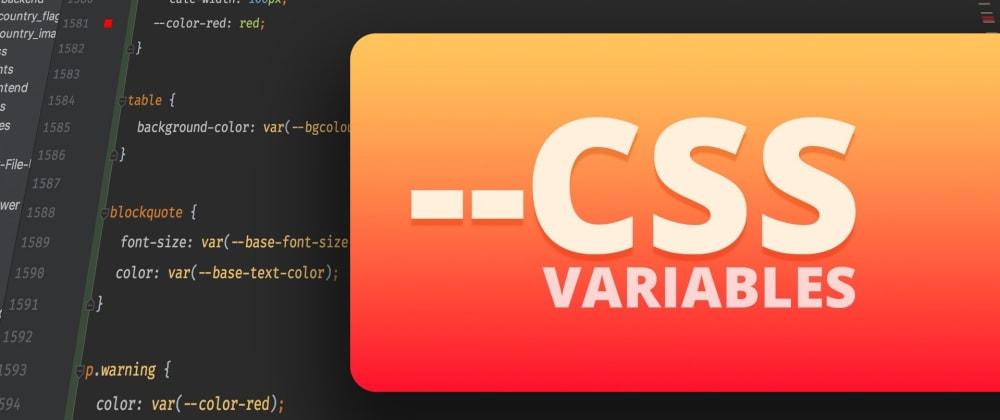Cover image for Understanding CSS Variables