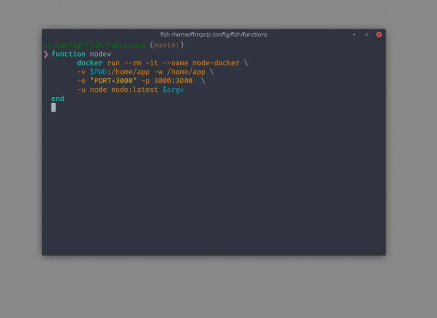 terminal screen capture
