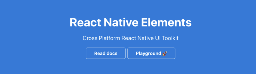 React Native Elements logo