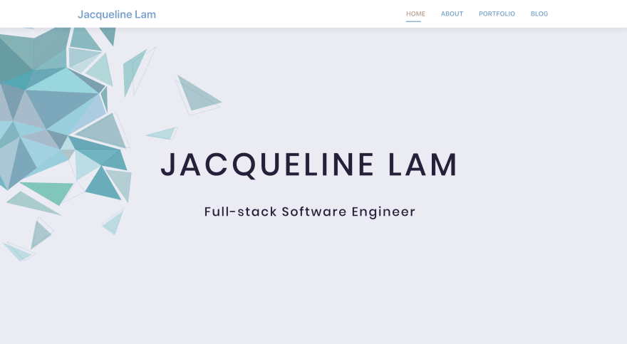 Personal Portfolio Homepage