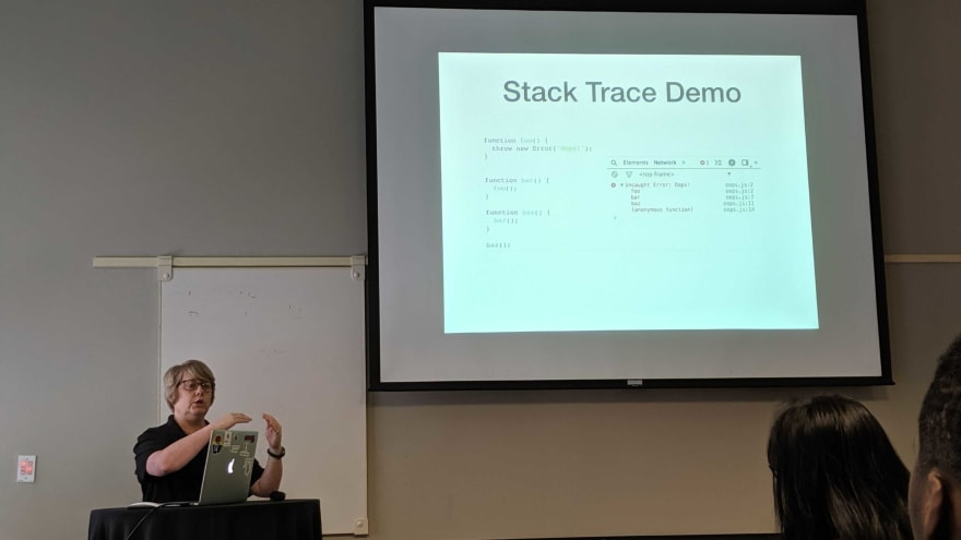 stack trace session