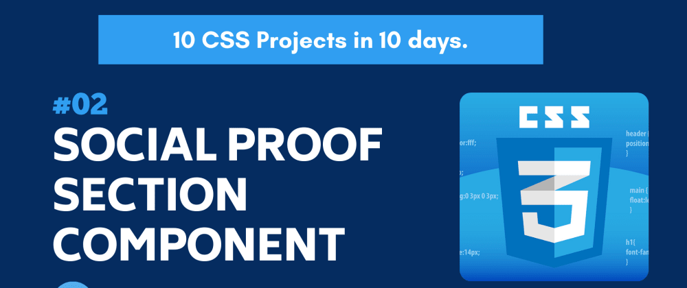 Cover image for Build 10 CSS Projects in 10 days: Project 2