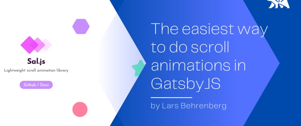 Cover image for The easiest way to do scroll animations in GatsbyJS