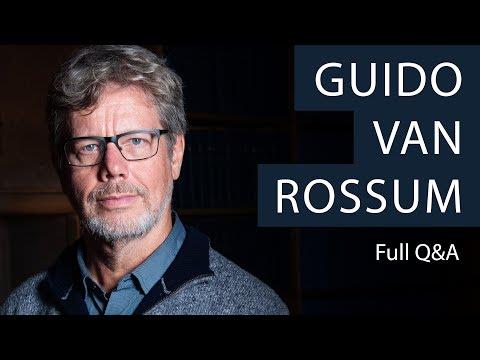 Python creator Guido van Rossum