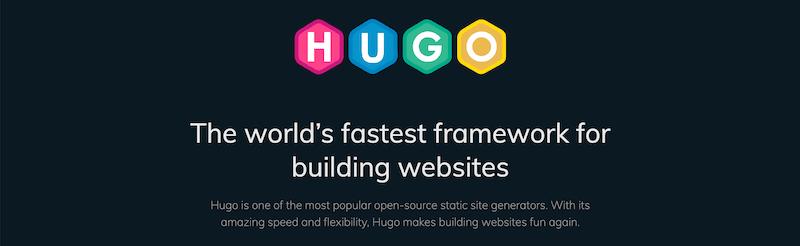 hugo static site generator