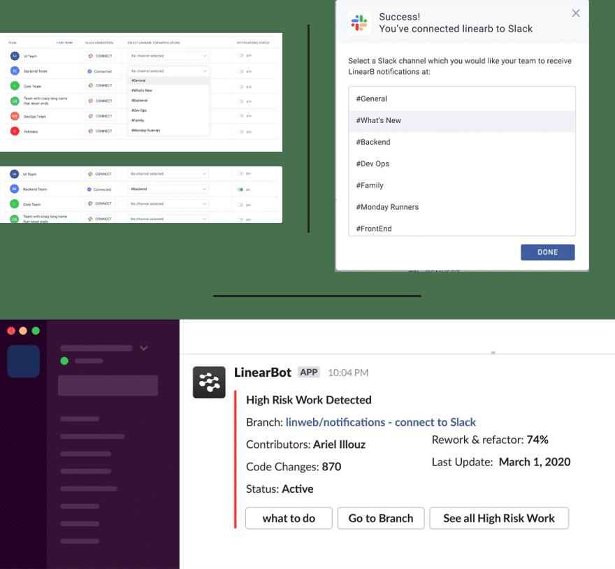 UX Screens for Slack Alert